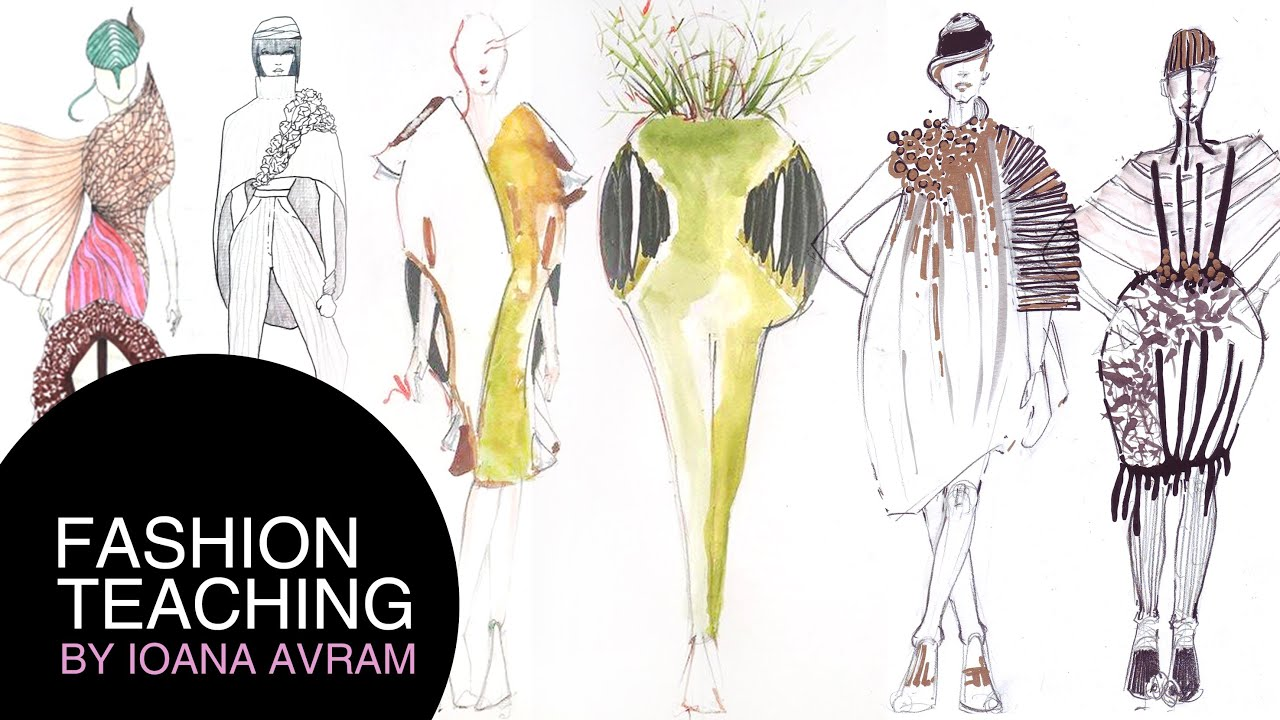 How to make a fashion design collection