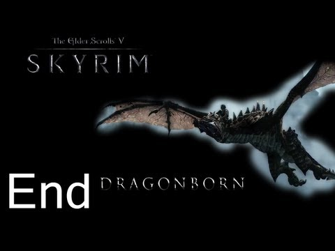 Skyrim DragonBorn Gameplay Walkthrough Ending