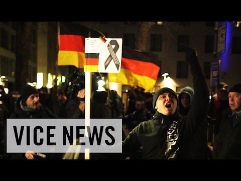 25,000 March Against Islam: Hate in Europe