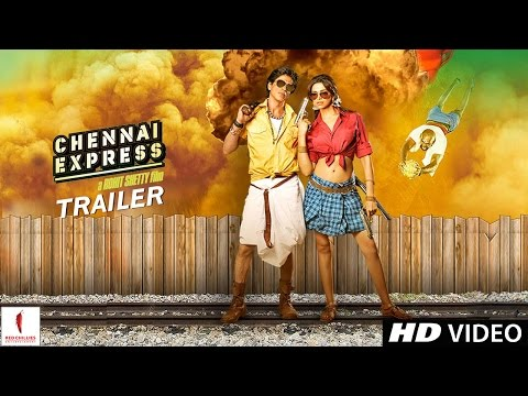 OFFICIAL TRAILER - Chennai Express - Theatrical Trailer - Shah...