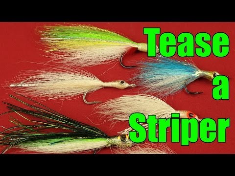 HOW TO tie a BETTER TEASER RIG for Striped Bass Fishing