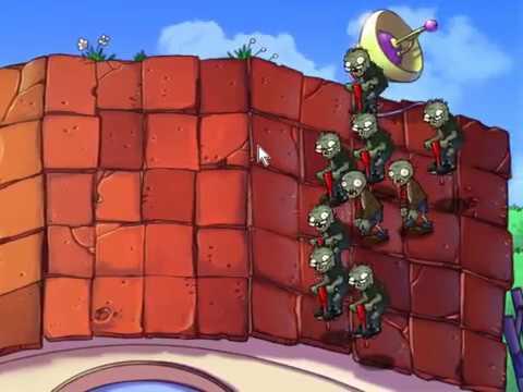 Hoa quả nổi giận   Con Zombies nhảy cực cao và nhanh