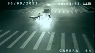 Life Is Dead - ANGEL SUPERHUMAN Teleportation caught on CCTV in China?