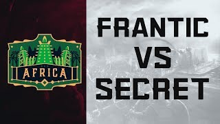 ECL Africa 3v3 - Secret vs Frantic [Grand Final]