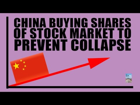China Stock Market COLLAPSING as Government Begins Buying Shares!