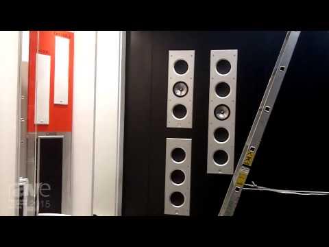 ISE 2015: GP Acoustics Exhibits KEF Loudspeakers