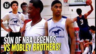 Scotty Pippen Jr, Kenyon Martin Jr, Cassius Stanley vs Mobley Brothers!! OT THRILLER!