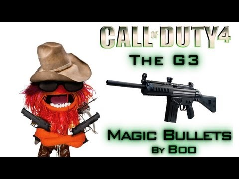 G3 Gameplay | Magic Bullets - Call of Duty 4
