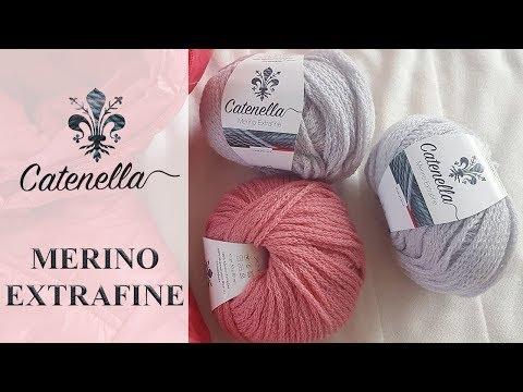 Обзор пряжи Catenella Merino Extrafine