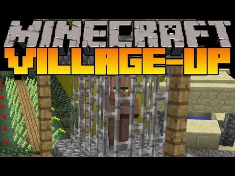Minecraft Mod Showcase - Village-Up -  Mod R