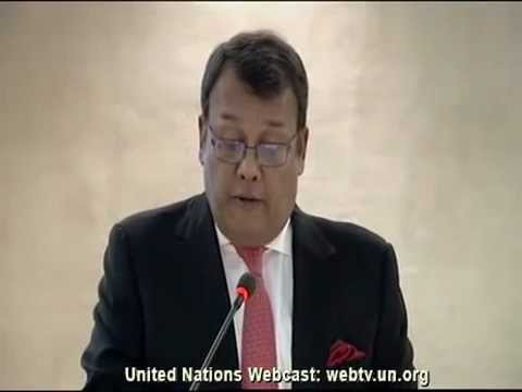 SL at UNHRC Session 2013 - Minister Mahinda Samarasinghe