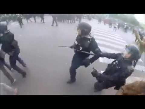 paris police brutality 2016