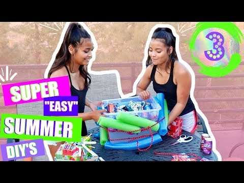 3 EASY SUMMER DIYS!!! (Must Try!!!!)