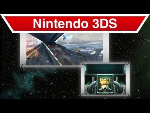 Nintendo 3DS - Star Fox 64 3D Trailer