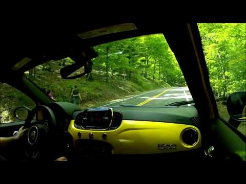 Fiat 500 Abarth Automatic Trans  Road Test