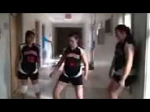 Senior Girls Volleyball 2012- The Fun Never Stops video