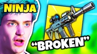 NINJA SAYS THERMAL SCOPED ASSAULT RIFLE IS SUPER BROKEN | Fortnite Daily Funny Moments Ep.97