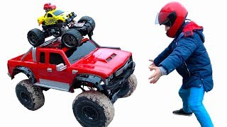 Kids Pretend Play Magic Toys / Ride on Children's Cars / Outdoor fun Activities