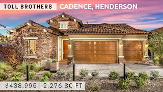 [New Home Tour] Toll Brothers | Cadence | $438,995 | 2,276 sq ft