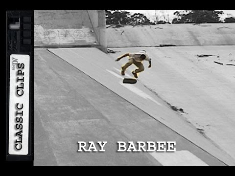 Ray Barbee Skateboarding Classic Clips #208