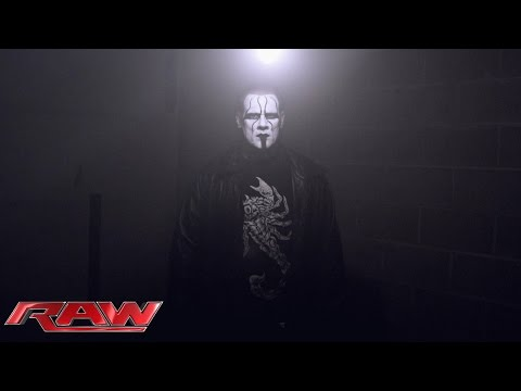 Sting's point of view: Raw, March 9, 2015