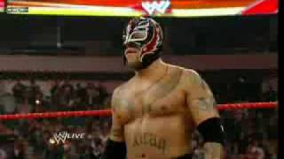 Rey Mysterio vs JBL 31 3 09 raw