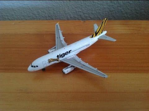 Phoenix 1:400 Tiger Airways A319-100 (9V-TRA)