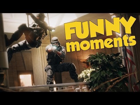 Rainbow Six Siege Funny & Rage Moments! + Monthly Giveaway