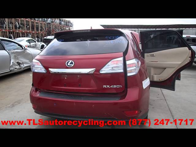 2011 Lexus RX450H Parts For Sale - Save up to 60%