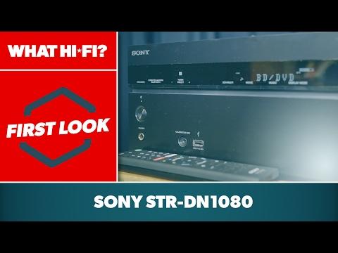 Sony STR-DN1080 Atmos AV receiver - first look