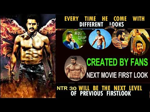 ''NTR'' Next Movie First Look'' Created by Fans..! NTR Fans || Tollywood Ticket