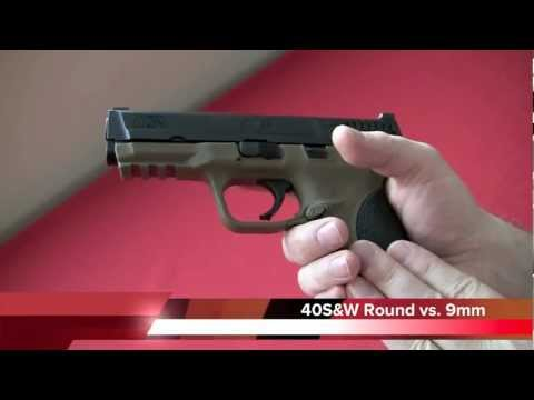 Smith & Wesson M&P 40 Review. Crucible Arms