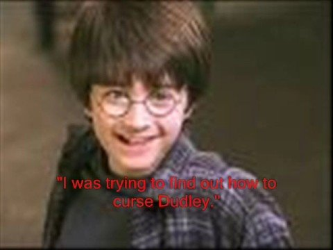 Funny Quotes from Harry Potter book 1, Part 1