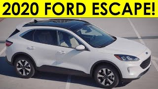 2020 Ford Escape Exterior & Interior Video & Information