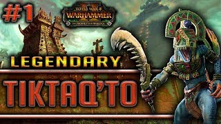 RULE THE SKIES! - TW: Warhammer 2 - Tiktaq'to Legendary Campaign #1
