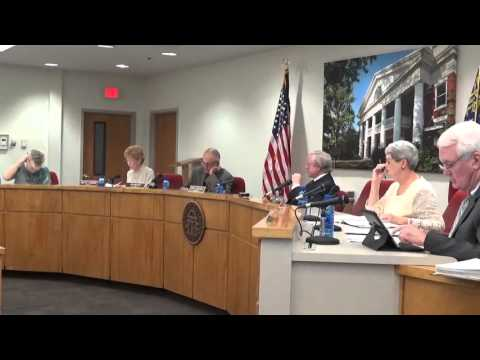 6 OCT 2015 BOARD OF COMMISSIONERS 7 PM MEETING – PART 1