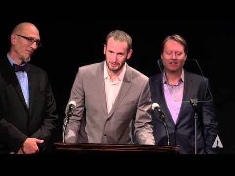 """Big Hero 6"" Team Roy Conli, Don Hall, Chris Williams Present Alternative Medalists: 2015 SAA"