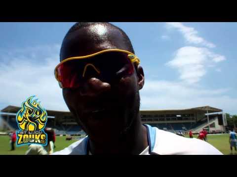 St. Lucia Zouks' captain Darren Sammy gets personal