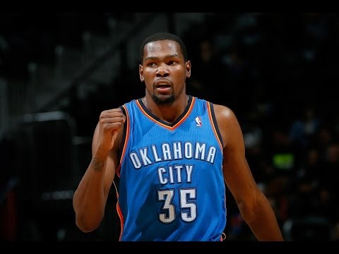 Kevin Durant Guides the Thunder Over the Hawks
