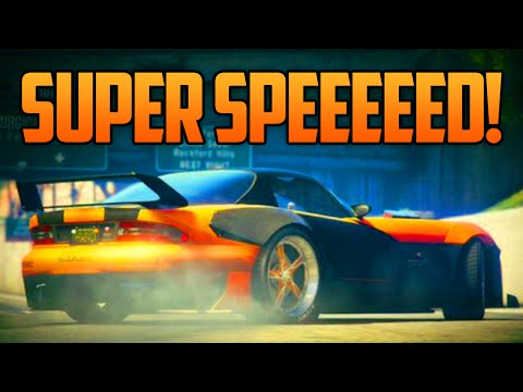 GTA 5 Online - SUPER SPEED GLITCH! How To Make Your Car 2x Faster (GTA 5 Glitches)