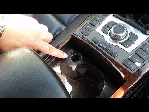 Where is the fuse for cigarette lighter socket on Audi A6 (C6 4F) - Cigarette Lighter Fix