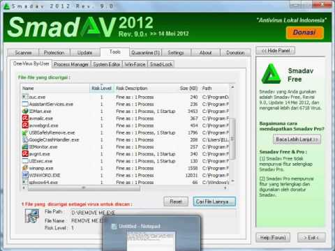 remove unknown virus use this tool