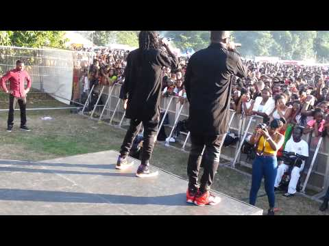 R2bees Performance At Ghana Party In The Park 2014 video