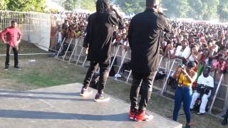 R2bees Performance at Ghana party in the park 2014