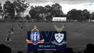 GPS Rugby R1 2018: The Southport School v Anglican Church Grammar School