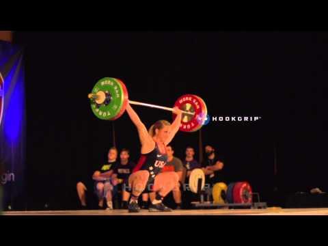 Mattie Rogers (63) - 91kg Snatch Junior American Record