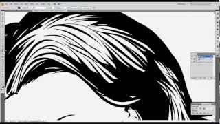 "TUTORIAL ""HOW TO DO A VECTOR PINUP IN ADOBE ILLUSTRATOR"" 06:37"