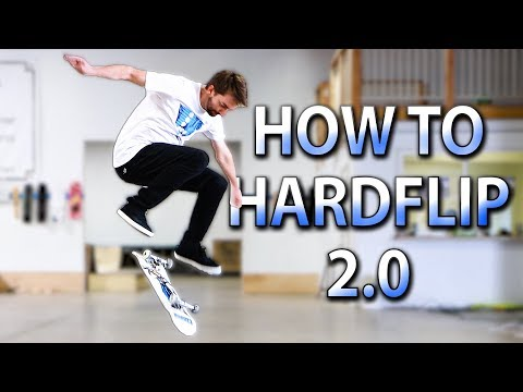 HOW TO HARDLFLIP THE EASIEST WAY TUTORIAL 2.0