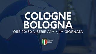 Serie A1 Maschile [1^ giornata]: Cologne - Bologna 24-13
