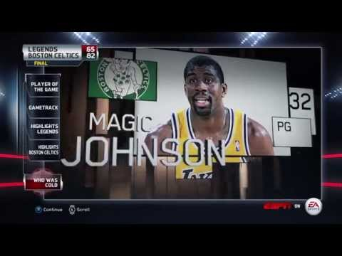 NBA LIVE 15 Ultimate Team - Boston Celtics vs Los Angeles Celtics - Post Highlights  - HD